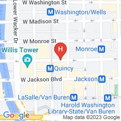 Karte W CHICAGO - CITY CENTER