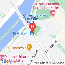 Karte EIFFEL SEINE