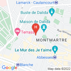 Karte BEST WESTERN PLUS HOTEL LITTERAIRE MARCEL AYMÉ
