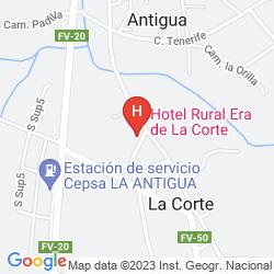 Karte RURAL ERA DE LA CORTE