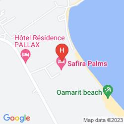 Karte VINCCI SAFIRA PALMS