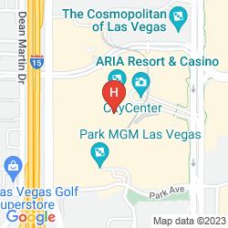 Karte ARIA RESORT & CASINO