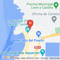 Karte APARTAMENTOS TINOCA