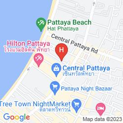 Karte SUNBEAM HOTEL PATTAYA