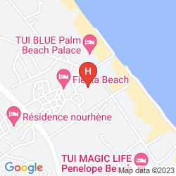 Karte FIESTA BEACH CLUB