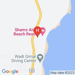 Karte SHAMS ALAM BEACH RESORT