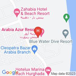 Karte ARABIA AZUR RESORT