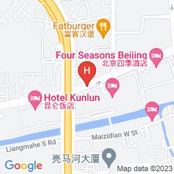 Karte KEMPINSKI HOTEL BEIJING LUFTHANSA CENTER