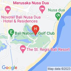 Karte THE ST. REGIS BALI RESORT