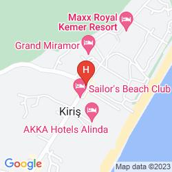 Karte AURA RESORT