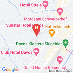 Karte SUNSTAR ALPINE FAMILIENHOTEL DAVOS