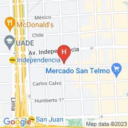 Karte POSTA DE PIEDRAS