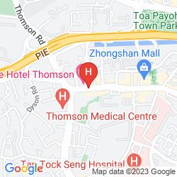 Karte VALUE HOTEL THOMSON