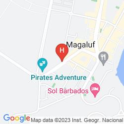 Karte FRESH APARTAMENTOS MAGAMAR