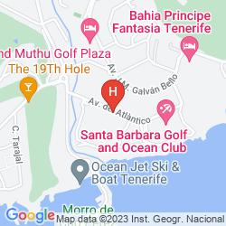 Karte APARTAMENTOS GEMA AGUAMARINA GOLF