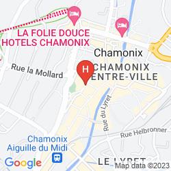 Karte PARK HOTEL SUISSE & SPA