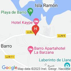 Karte MIRACIELOS