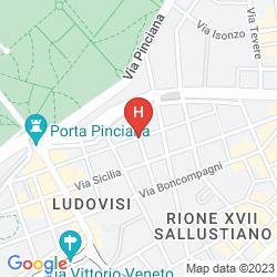 Karte VILLA PINCIANA