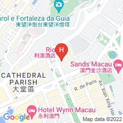Karte RIO HOTEL & CASINO