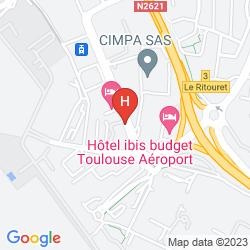 Karte PULLMAN TOULOUSE AIRPORT
