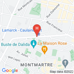 Karte ADONIS SACRÉ COEUR HOTEL ROMA