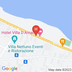 Karte HOTEL VILLA D'AMATO