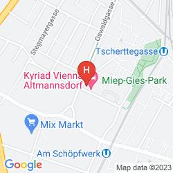 Karte 7 DAYS PREMIUM HOTEL VIENNA