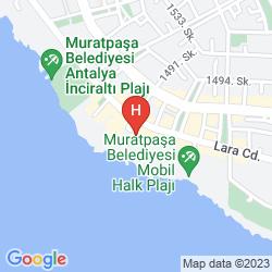 Karte ANTALYA OTELI