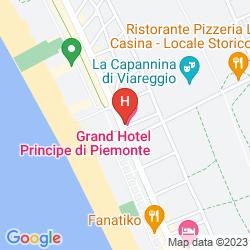 Karte GRAND HOTEL PRINCIPE DI PIEMONTE