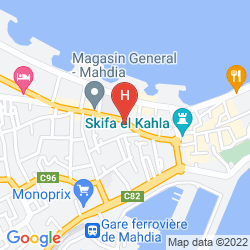 Karte EL MOURADI CAP MAHDIA