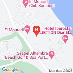 Karte EL MOURADI PALACE