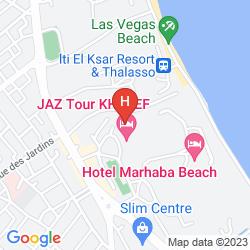 Karte JAZ TOUR KHALEF