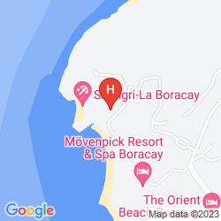 Karte SHANGRI LA'S BORACAY RESORT & SPA PHILIPPINES