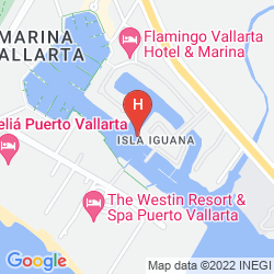 Karte THE WESTIN RESORT & SPA, PUERTO VALLARTA