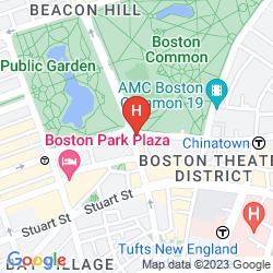 Karte FOUR SEASONS HOTEL BOSTON