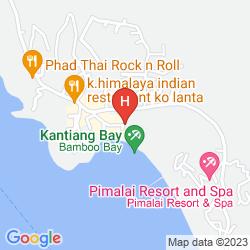 Karte PHRA NANG LANTA (BEACH FRONT STUDIO)