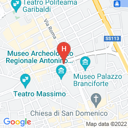 Karte GUEST HOUSE RUGGIERO VII