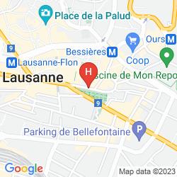 Karte DE LA PAIX