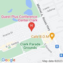 Karte QUEST HOTEL & CONFERENCE CENTER CLARK