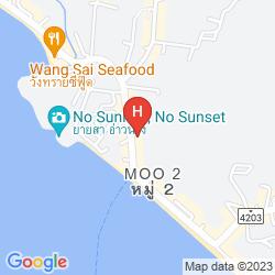 Karte ANYAVEE BAN AO NANG RESORT