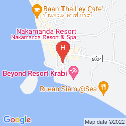 Karte BHU NGA THANI RESORT AND SPA