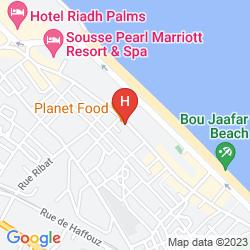 Karte EL HANA BEACH
