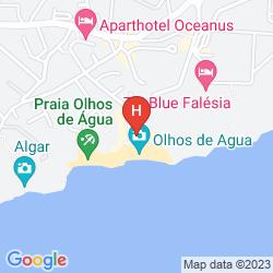 Karte PINHAL DO SOL