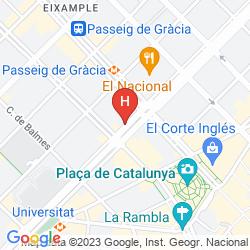 Karte AVENIDA PALACE