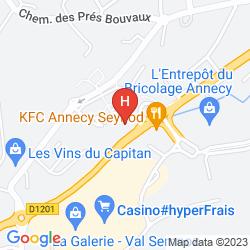 Karte ALTESS