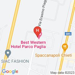 Karte BEST WESTERN PARCO PAGLIA
