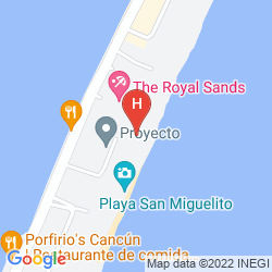 Karte THE RITZ CARLTON CANCUN