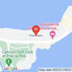 Karte GRAND ROYAL LAGOON CANCUN