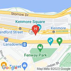 Karte THE BOSTON HOTEL BUCKMINSTER