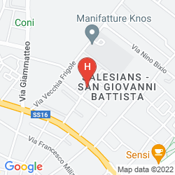 Karte HILTON GARDEN INN LECCE